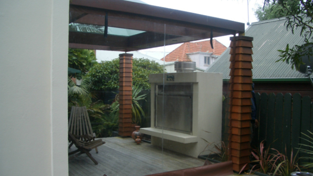 Hand Rolled Outdoor Blinds image 0