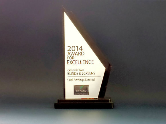 2014 Award For Excellence OFPANZ