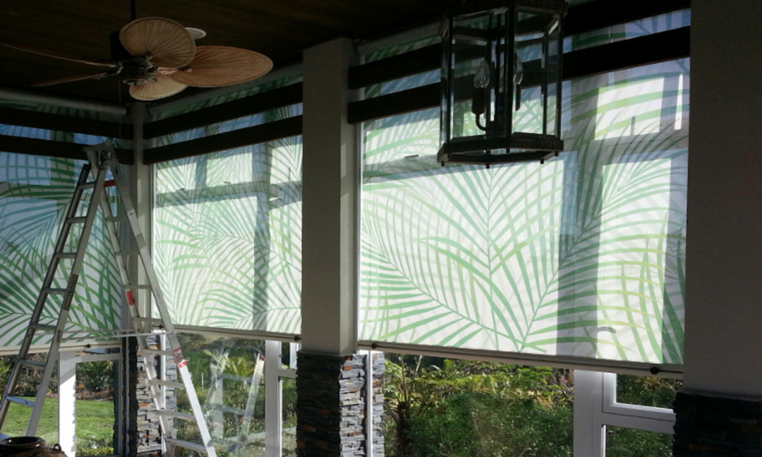 Channel Side outdoor blinds image 2