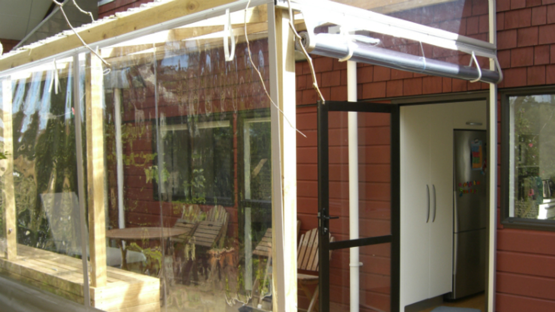 Hand Rolled Outdoor Blinds image 2