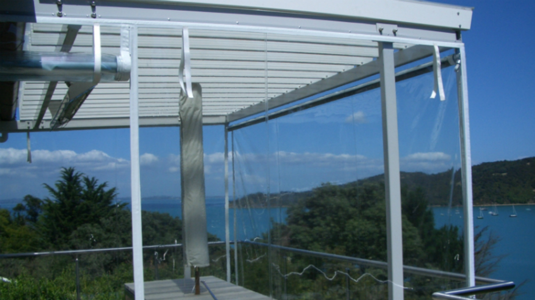 Hand Rolled Outdoor Blinds image 3