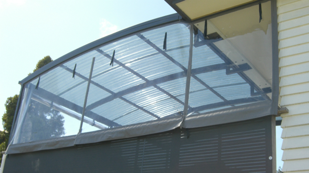 Hand Rolled Outdoor Blinds image 4
